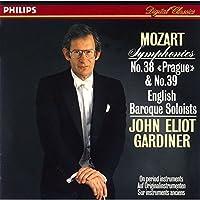 Mozart: Symphonies No. 38 & No. 39 by John Eliot Gardiner (2015-05-27)
