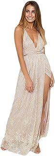 1a6e4430e9b9 Amazon.es: lentejuelas - De tubo y peplum / Vestidos / Mujer: Ropa