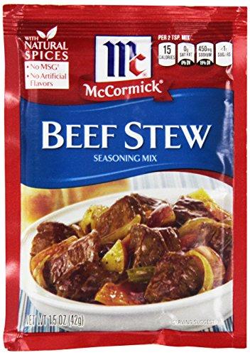 McCormick Beef Stew Seasoning Mix 1.5 oz