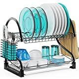 Best Dish Drainers - Dish Drying Rack - Veckle 2 Tier Dish Review