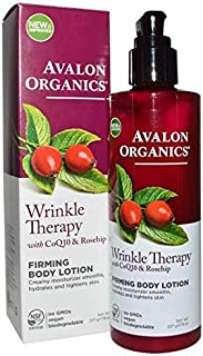 Avalon Organics, Wrinkle Therapy with CoQ10 & Rosehip, Firming Body Lotion, 8 oz (227 g)