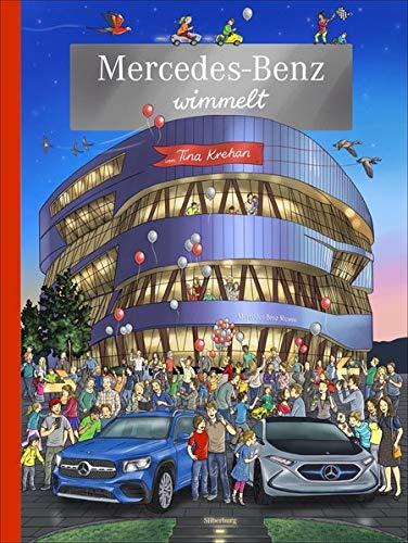 Mercedes-Benz wimmelt. Ein Wimmelbuch mit Rundgang durch die Mercedes-Benz-Welt.