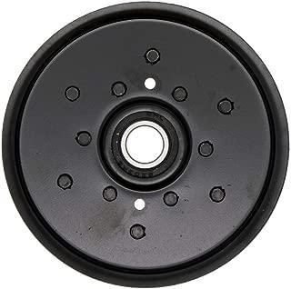 8TEN Heavy Duty Flat Idler Pulley for John Deere Sabre Scotts GX255 LT160 X300 AM121602 AM106627