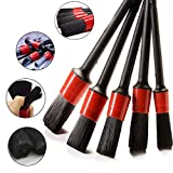 Stone Banks Car Detailing Brush Set, Auto Detail Cleaning Brushes, Premium Cleaner Brush