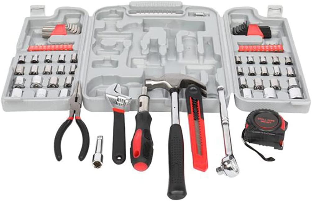 XXNB Tool Set 186-Piece Basic Kit Ranking TOP2 Low price H Men and Home Women for
