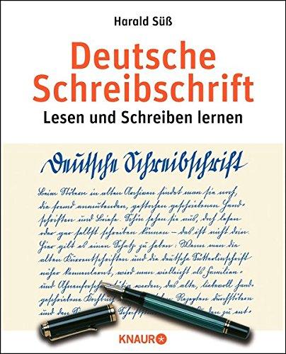 Süß, Deutsche Schreibschrift (ÜB)