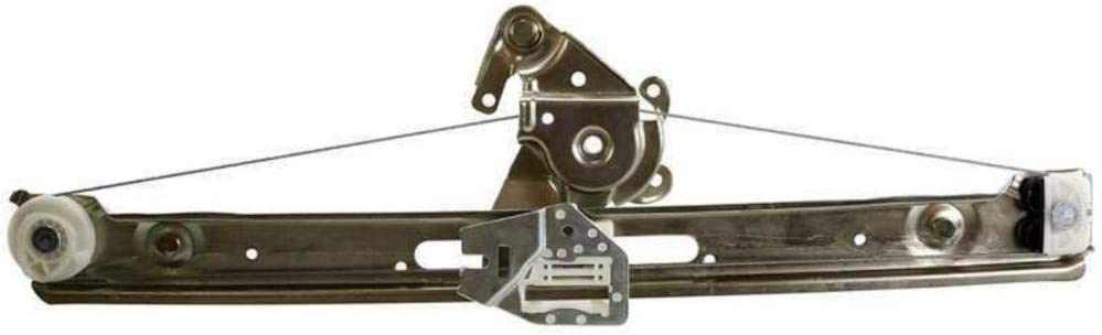 1pc Rear 2021 spring and summer new Daily bargain sale Right Power Window Lift Regulator Door Side Glas