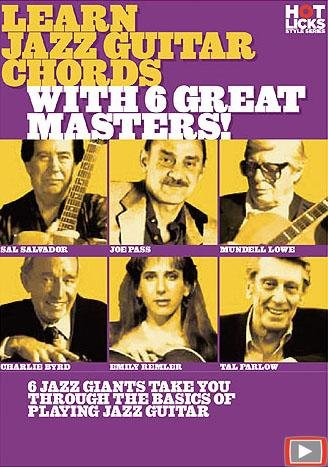 Learn Jazz Guitar Chords With 6 Great Masters!