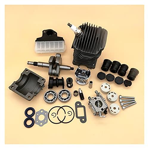 XINYE wuxinye 42.5mm Piezas de Motosierra Motor Montaje Montaje Montaje Cilindro Pistón Carburador AV Buffer Ajuste para STIHL MS250 MS230 025 023 MS 250 230 Repuestos