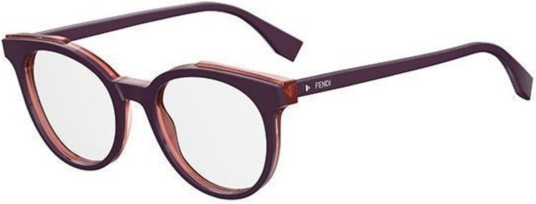 New Fendi ROMA FF 0249 B3V purple transparent red Eye Wear