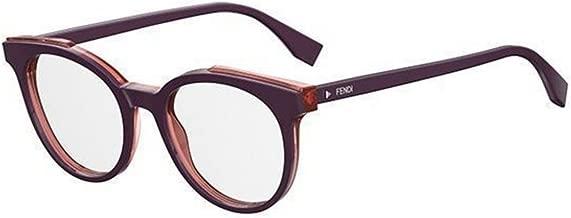 New Fendi ROMA FF 0249 B3V violet transparent red Eye Wear