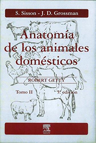 Anatomía de los animales domésticos. Tomo II (Spanish Edition)