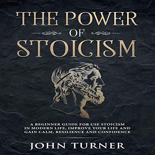 The Power of Stoicism audiobook cover art