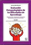 Evaluación Psicopedagógica de las Dificultades de Aprendizaje. Volumen 1: 41 (FORMACIÓN PARA PSICOPEDAGOGOS)