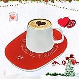 USB Coffee Mug Warmer for Desk with Auto Shut Off, USB Coffee Cup Warmer for Desk Office Home