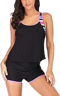 bf94b61de81e Rawdah-- Signore Dente di Sega Bikini Costume da Bagno Donna Due Pezzi  Costume Intero