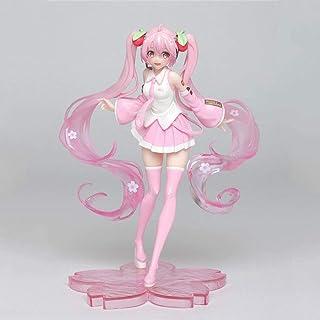 Aoemone Hatsune Miku Sakura Miku Beautiful Girl Anime Figures Cartoon Game Character Model Statue Figure Toy Collectibles ...