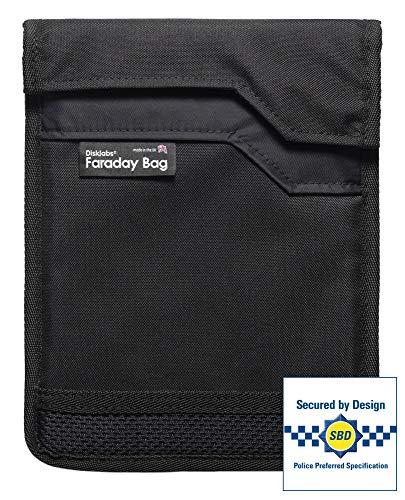 Disklabs TS1L Tablettschutz, groß, 30 x 40 cm, RF abgeschirmt, Faraday Bag