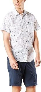 Dockers Men's Short Sleeve Button-Down Modern Fit Supreme Flex Poplin Shirt