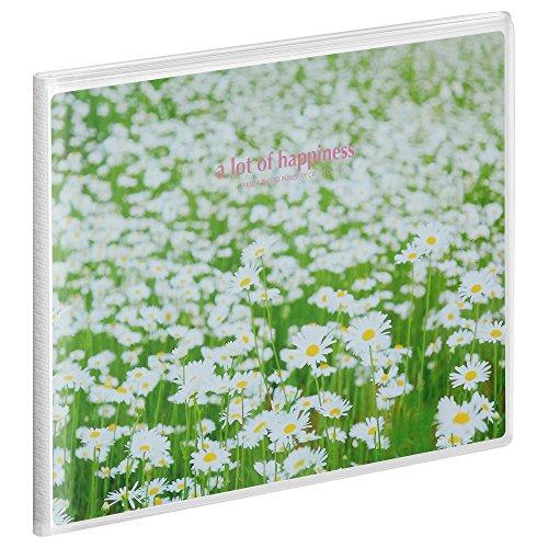 ハクバ HAKUBA アルバム PポケットアルバムNP 2Lサイズ横 20枚 白い花畑 APNP-2LY-SHB [7421]