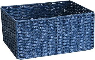 Dabeigouzzhiwl casier Rangement, Paniers à Domicile pour Organiser, boîtes à bacs de Rangement (Corde de Papier), Couleur:...
