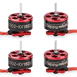 4pcs 0802 16000KV Brushless Motors 1-2S SE0802 Micro Drone Motor for Micro FPV Racing Drone Like Mobula7 Snapper7 RC Drone