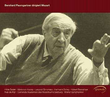 Bernhard Paumgartner conducts Mozart
