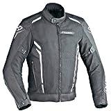 Ixon Blouson Moto Cooler, Noir/Blanc, Taille L