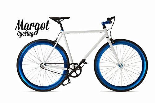 """Margot Cycling Europa Bici Fixie """""""" Fixed Bike Modelo. Aqua. Talla. 58"""