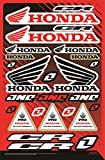 KIT STICKERS FOX CR ADESIVI SPONSOR MOTO COMPATIBILE PER HONDA YAMAHA KTM CROSS ENDURO CASCO (32)