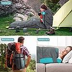 Relefree-Sacco-a-Pelo-Campeggio-Impermeabile-per-3-Stagioni-Sacchi-a-Pelo-5-15-per-Campeggio-Trekking-Escursioni-attivita-allAria-Aperta