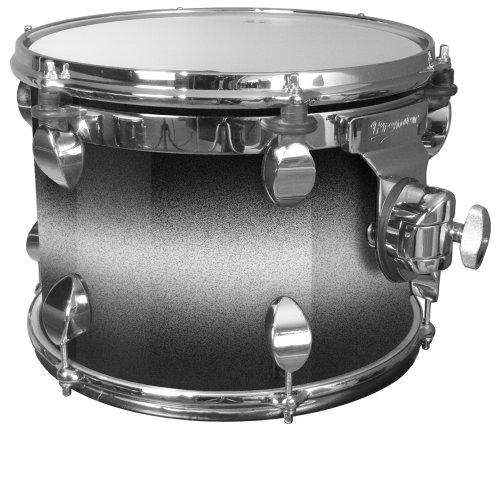 Premier Drums Series Elite 2824SPLSSX 1-teiliges Ahorn-Power-Tom-Schlagzeug-Set (Silver Sparkle)