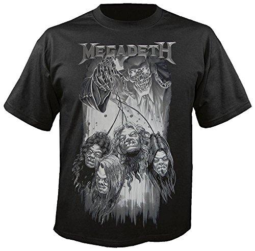 Megadeth - Shruken - T-Shirt Größe L