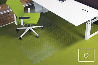 Ecogrip Bodenschutzmatte Teppichb/öden 150x120cm transparent eckig