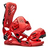 Gnu Mutant Snowboard Bindings - Large/Red