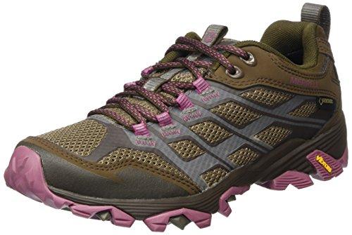 Merrell Women's Moab Fst Gtx Low Rise Hiking Boots, Brown (Boulder), 6.5 UK 40 EU