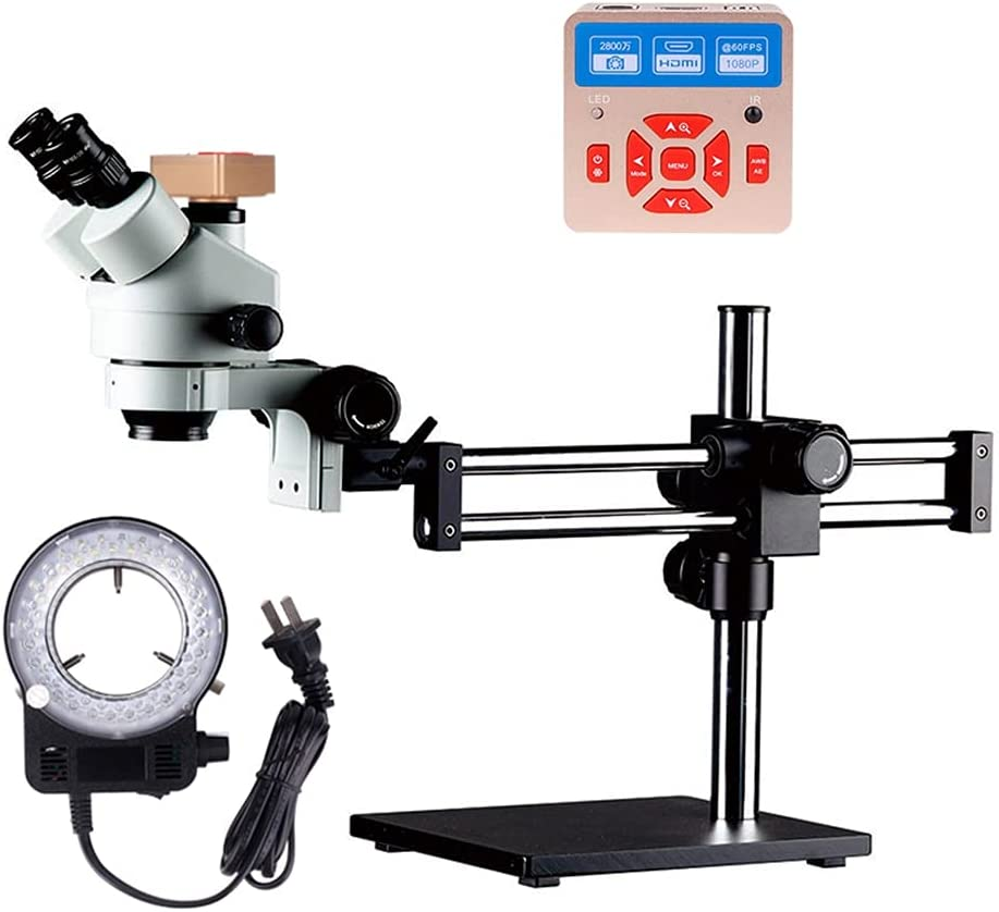 TANGIST Max 78% OFF Yizhan 28MP HDMI Camera 2021 Do Simul-Focal Microscope 7X-45X