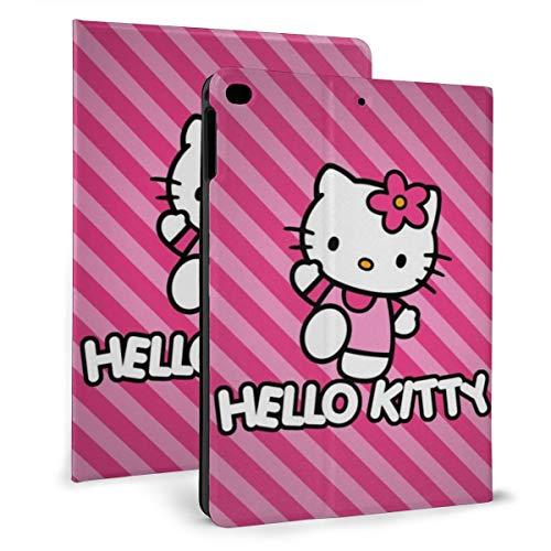 Funda de piel con función atril para tablet iPad Mini 4/5 de 7,9', diseño de Hello Kitty