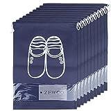ZeWoo Lot de 10 Travel Sacs à Chaussures de Voyage, Sacs de Voyage Respirants Sacs Organisateurs, Drawstring Portable...