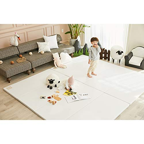Find Bargain ALZIP MAT Eco Silion Urban, Folding Baby Play Mat Eco-Friendly Non-Toxic Non-Slip Rever...