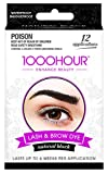 1000 Hour Eyelash & Brow Dye/Tint Kit Permanent Mascara (Black) [Packaging May Vary]