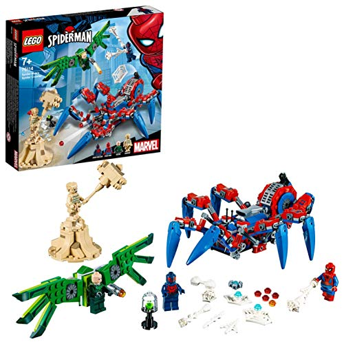 LEGO Marvel Super Heroes - Le véhicule araignée de Spider-Man -...