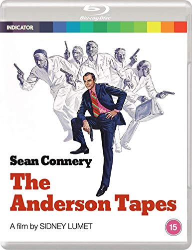The Anderson Tapes (Standard Edition) [Blu-ray] [2020] [Region Free]