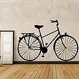 Vintage vélo modèle Sticker Mural pour Salon Chambre Sticker Vinyle Auto-adhésif...