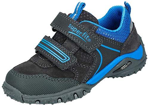 Superfit Baby Jungen SPORT4 Mini Sneaker, Grau (Grau/Blau 20 20), 29 EU