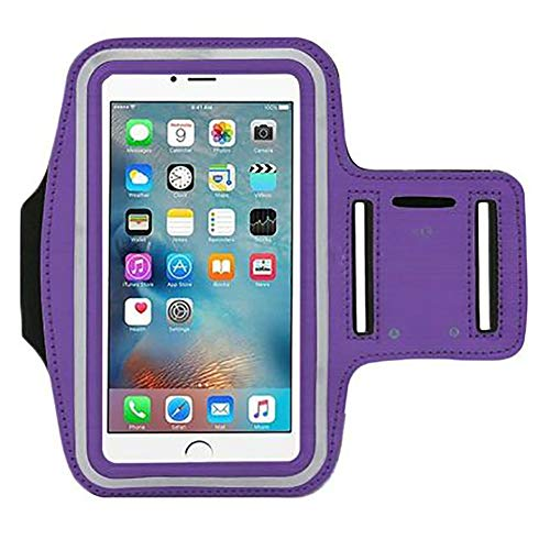 Bolso para Brazalete, Bolsa de Brazo para teléfono, ZRSA Soporte de Brazalete Deportivo para Correr Bolsa de Brazo portátil para Samsung Gym con Banda de Brazo para iPhone 12 Pro MAX 11x7