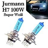 2x H7 12V 100W 6000K Super White Xenon Effekt...