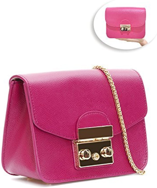 Leather Chain Shoulder Bag Fashion Mini Evening Bag Wedding Party Handbag Classic Clutch for Women Girls