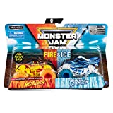MJ 2019 Spin Master Monster Jam Fire&Ice Megalodon and Dragon Special Edition