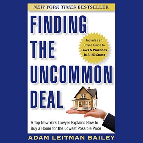 Finding the Uncommon Deal  By  cover art